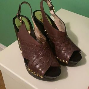 Michael Kors Wedge Shoes Size 6.5M ( Fits small)